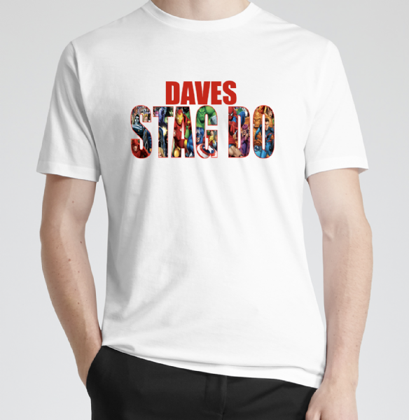 Marvel Stag Do T-shirt